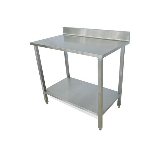 mesa de trabajo en acero inoxidable